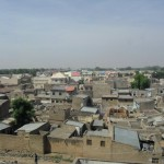 Birds eye view of some of Kano's old city